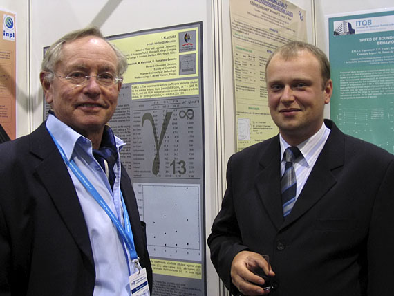 Prof. Trevor Letcher (South Africa) and Dr Andrzej Marciniak